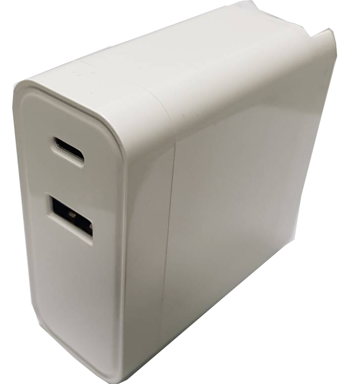 QC3.0 USB折疊式插頭快充-60w